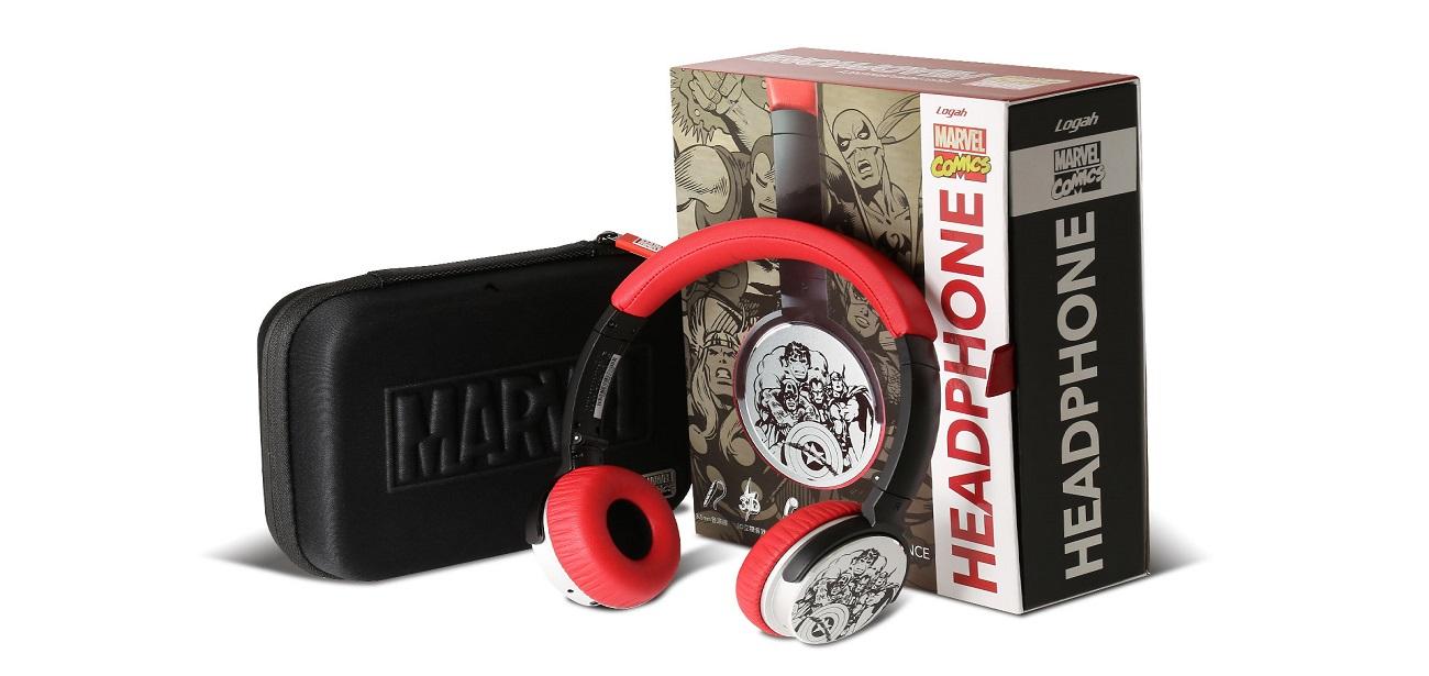 漫威復仇者聯盟英雄耳罩式耳機Marvel原廠授權